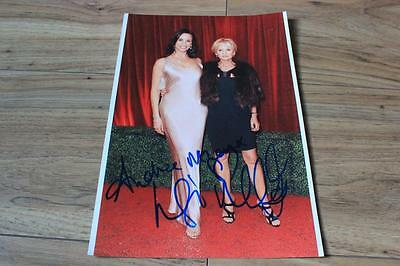 LISA MAXWELL ANDREA MCLEAN ORIGINAL SIGNED 12x8 FRAMED PICTURE. LOOSE WOMEN. ITV