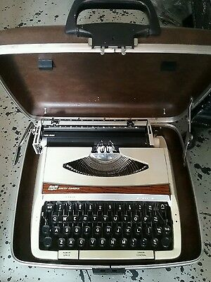 smith and corona typewriter in case ( can deliver locally )