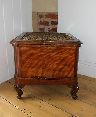 Antique Victorian commode with pull-out step