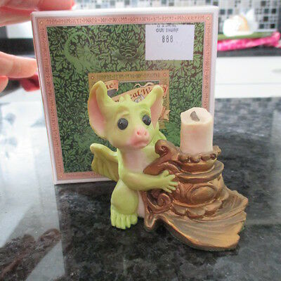 """Vintage Pocket Dragons """"it's Dark Out There""""  Jan 1994-Retired Boxed Rare??"""