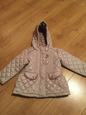Next Quilted Coat Jacket Age 1.5-2