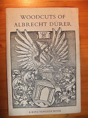 "book ""Woodcuts of Albrecht Durer"" T D Barlow 1948 King Penguin"