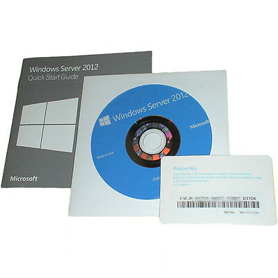 Microsoft Windows Server 2012 Datacenter Key + DVD Englisch 5 CLT, P73-07321