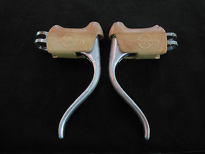 Vintage Weinmann Red Dot Racing Bicycle Brake Levers Non Aero Suitable L'eroica
