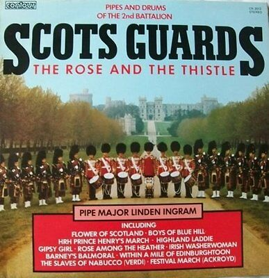 PIPES AND DRUMS 2ND BATTALION SCOTS GUARDS The Rose and Thistle, Contour CN 2012