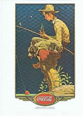 Coca-Cola Norman Rockwell Lithograph