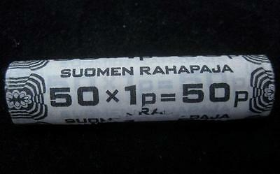 Finland 1979 Penni BU roll of 50 coins original unopened bank roll #36