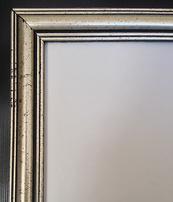 """Vintage Style Panoramic Photo Picture Frame Holds Photo 8x20"""""""