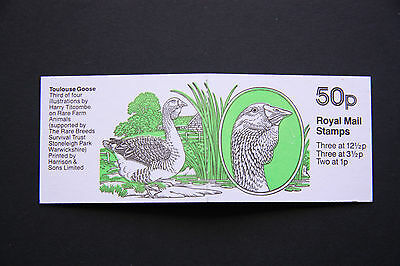 GB 50p booklet FB25