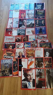 Time Magazine – 47 Copies from 2015/2016 Joblot