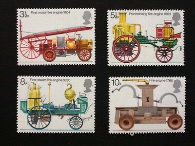 GB, 1974 set of 4 mnh, bicentenary of the fire prevention( metropolis) act