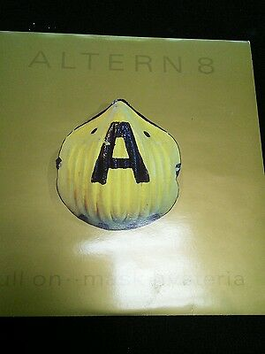 "Altern 8 ‎– Full On Mask Hysteria 2x 12"" Vinyl Immaculate Rare Rave 1992"