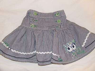 Girls Next striped skirt age 2-3 years, excellent condition!
