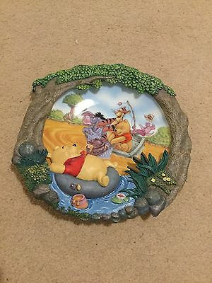 Limited Edition Pooh's Sweet Dreams Wall Plate