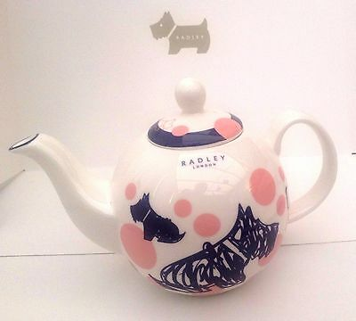 Radley Teapot  Rose Pink Cherry Blossom RRP £34  New in Box