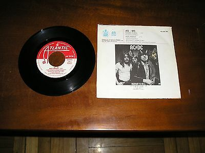 """ac/dc highway to hell / night prower single 7"""" spain 1979"""