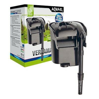 Aquael Versamax Mini Hang On Aquarium External Filter Fish / Shrimp / Nano Tank