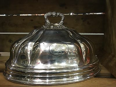 Vintage Silver plated Meat Dome
