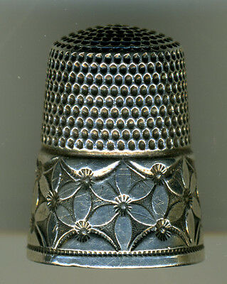 Lot of 3 Sterling Silver Thimbles from Simons Bros