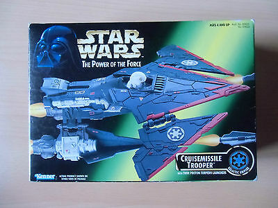 STAR WARS Kenner Cruisemissile Trooper The Power of the Force 4+ Neu & OVP