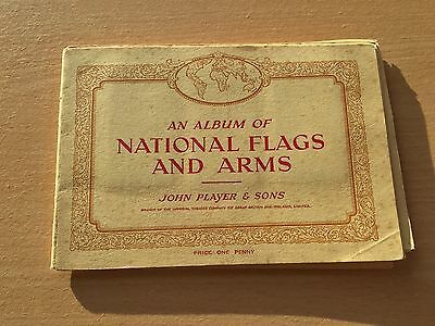 John Player - National Flags and Arms Cigarette Card Album