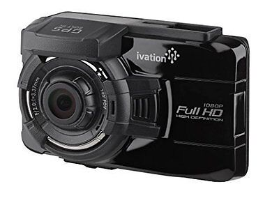 Ivation Dash Cam GW18, 1080p HD Video & GPS Recorder, with Wi-Fi
