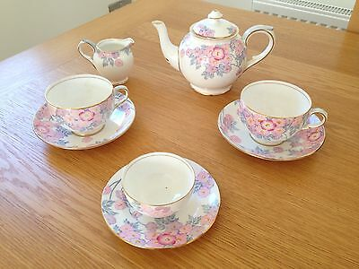 Crown Staffordshire Tea Set