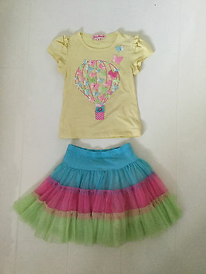 Jona Michelle Butterfly Design Frilled Tulle Skirt And T-Shirt – Age 4 Yrs 104Cm