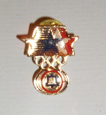 Los Angeles 1984 Olympic Games USA United States Bell sponsor pin