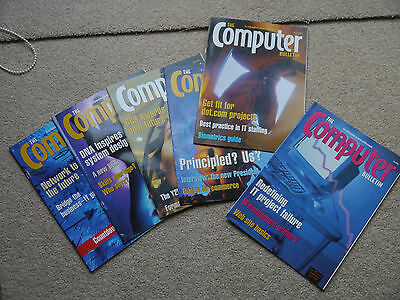 """""""The Computer Bulletin"""", July 2000 – May 2001 (6 issues)"""