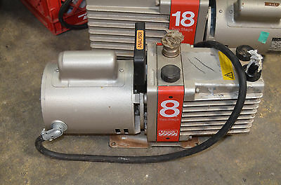 Edwards 8 Two-Stage High Vacuum Pump Model: E2M8