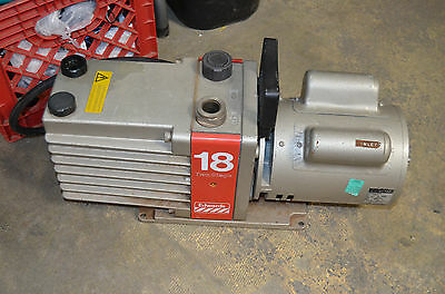 Edwards 18 Two-Stage High Vacuum Pump Model: E2M18