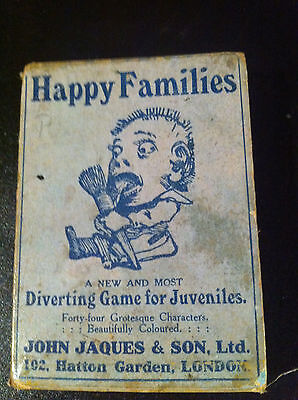 Jaques Happy Families Original 1900-10
