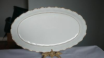 "Walbrzych Empire LARGE 15 1/4"" Oval Serving Platter in Excellent Condition"
