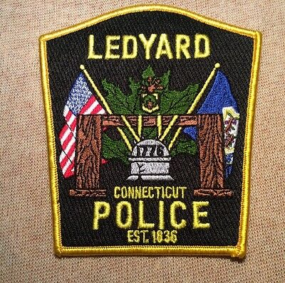 CT Ledyard Connecticut Police Patch