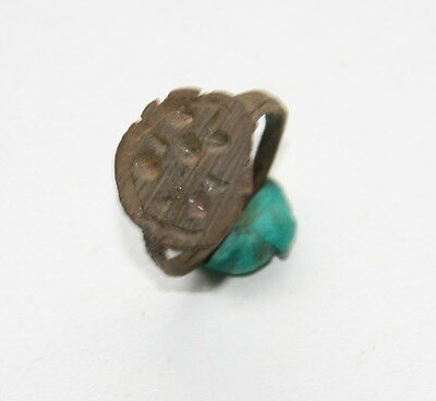 Ancient Old Viking Bronze Ring (JNE25)