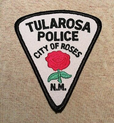 NM Tularosa New Mexico Police Patch