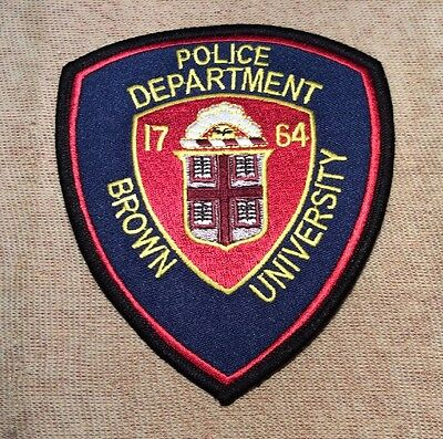 RI Brown University Rhode Island Police Patch