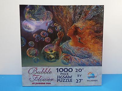 "SunsOut Bubble Flower 1000pc Jigsaw Puzzle Josephine Wall 20"" x 27"""
