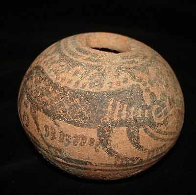 Going Out Of Business Sale! Painted Jug With Animals And Tree Of Life!  ~3000Bc