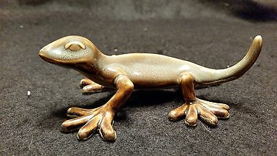 New!! Golden Pond Collection - Ceramic Gecko Perfect Gift/ Fine Art