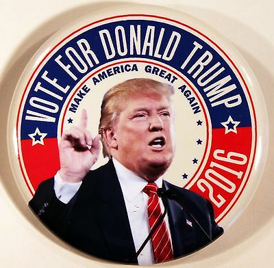 2016 Donald Trump For President Campaign Pin