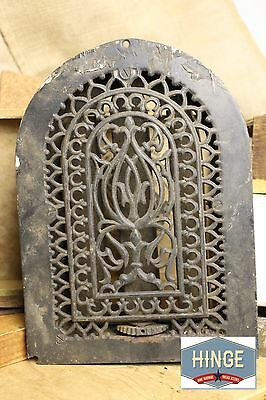 Antique Arched Iron Grille, Grate Register Cover Item#317