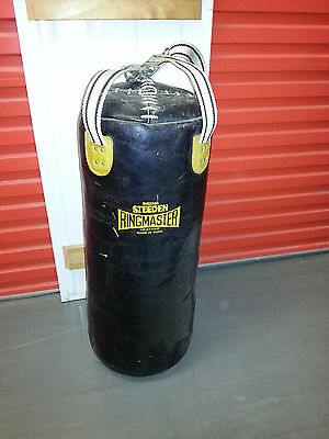 Boxing Punching Bag with Wall Mount Stand
