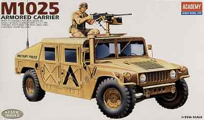 Brand New ACADEMY 1/35 M1025 ARMOURED CARRIER Military Model Kit ACA-13241