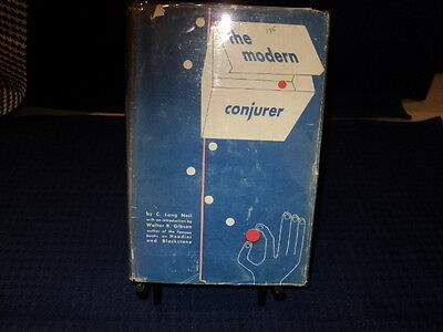 The Modern Conjurer by C. Long Neil  :: Hardcover Book
