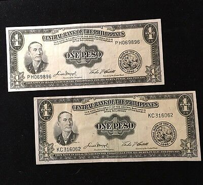 Entrap Bank Of The Philippines $1 Peso ND Pic133F (x2)