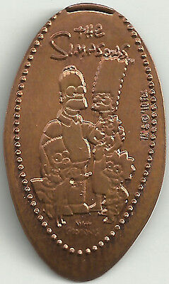 The Simpson's Elongated Penny - Copper