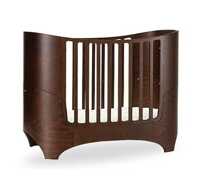 Leander Walnut Cot With Junior Kit
