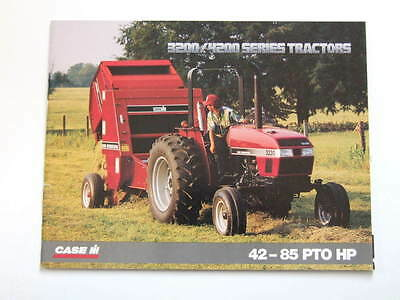 Case IH Utility Tractors 3200 and 4200 Series - 1994 brochure